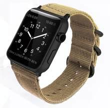Eastar, хит продаж, нейлоновый ремешок для часов Apple Watch, серия, 4/2/1, спортивный кожаный браслет, 42 мм, 38 мм, ремешок для iwatch 5(Китай)