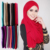Hot sell plain solid color muslim arab women cheap price jersey hijab