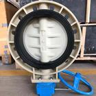 D371x [ Gearbox ] Valve Price Durability Quality Trade Price D371x Gearbox Operated Pp Butterfly Valve