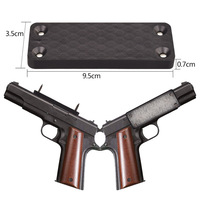 Gun Magnet Mount Holder (45 lbs Rated) - Magnetic Holster for Handgun