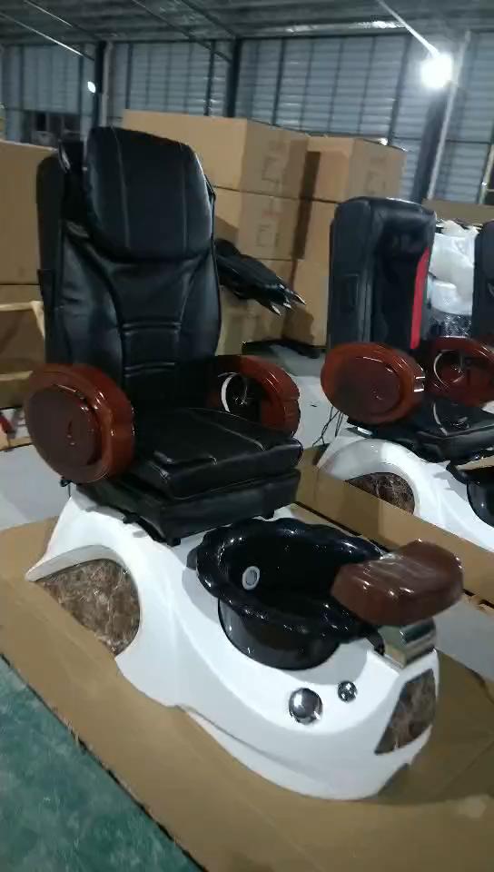 Manicure pedicure spa massage chair