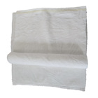 White bath towel cotton rags used towels
