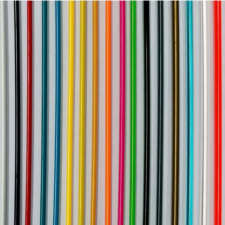 Filo Plastica Per Sedie.Diversa Dimensione Flessibile Pvc Colorato Corda Corda Di Plastica