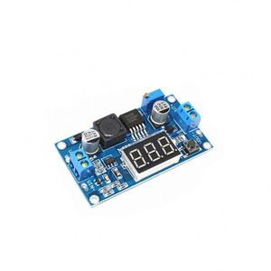 A11-- XL6009 Boost Step-up Module Power Supply LED Voltmeter Adjustable boost module Integrated Circuits
