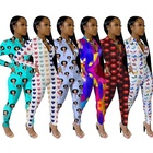 Women Sexy Fall Clothing Long Sleeve Sleepwear Nightwear Romper Pajamas Onesies For Women