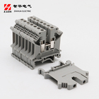 Double Din 2 Terminals Din Rail UK-4/2-2 Double Layer Din Rail 2 Layer Terminal Block