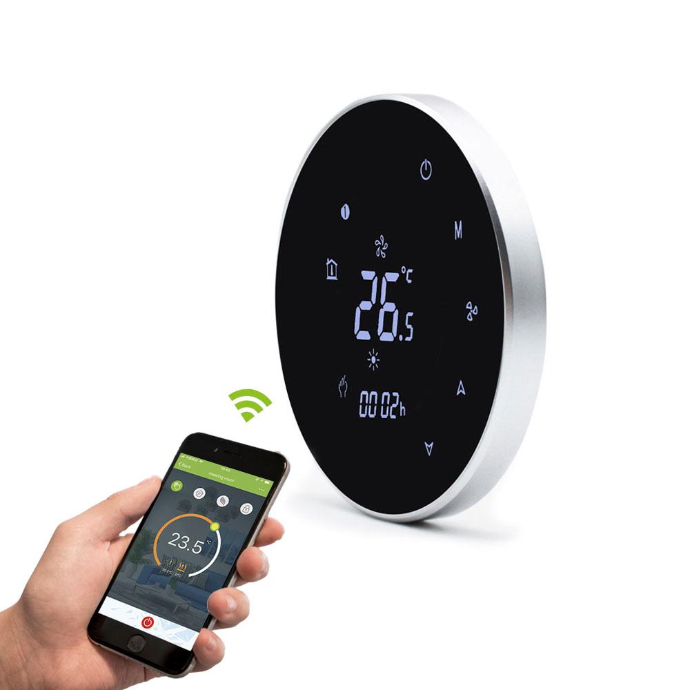 2019 NEW Tuya APP Control Smart Wifi Room Fan Coil Thermostat