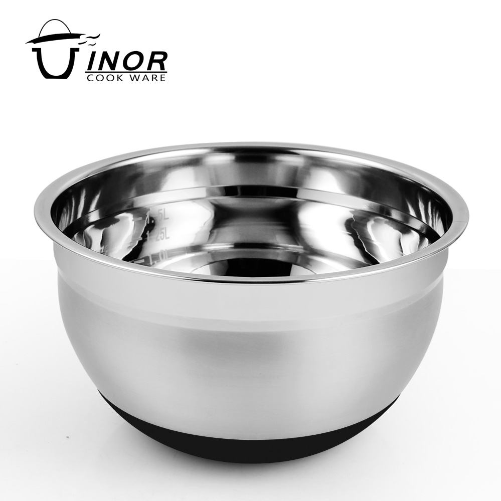 kitchen unbreakable mirror finish stainless steel fruit mixing bowls set of 7