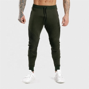 Quality active wear manufacture fitted tapered jogger pants men's