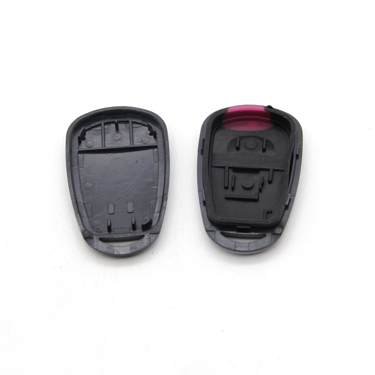 Car Remote Replacement Shell Fob Car Key Case Chip Car Transponder Shell with 1 Button for HYD without Blade