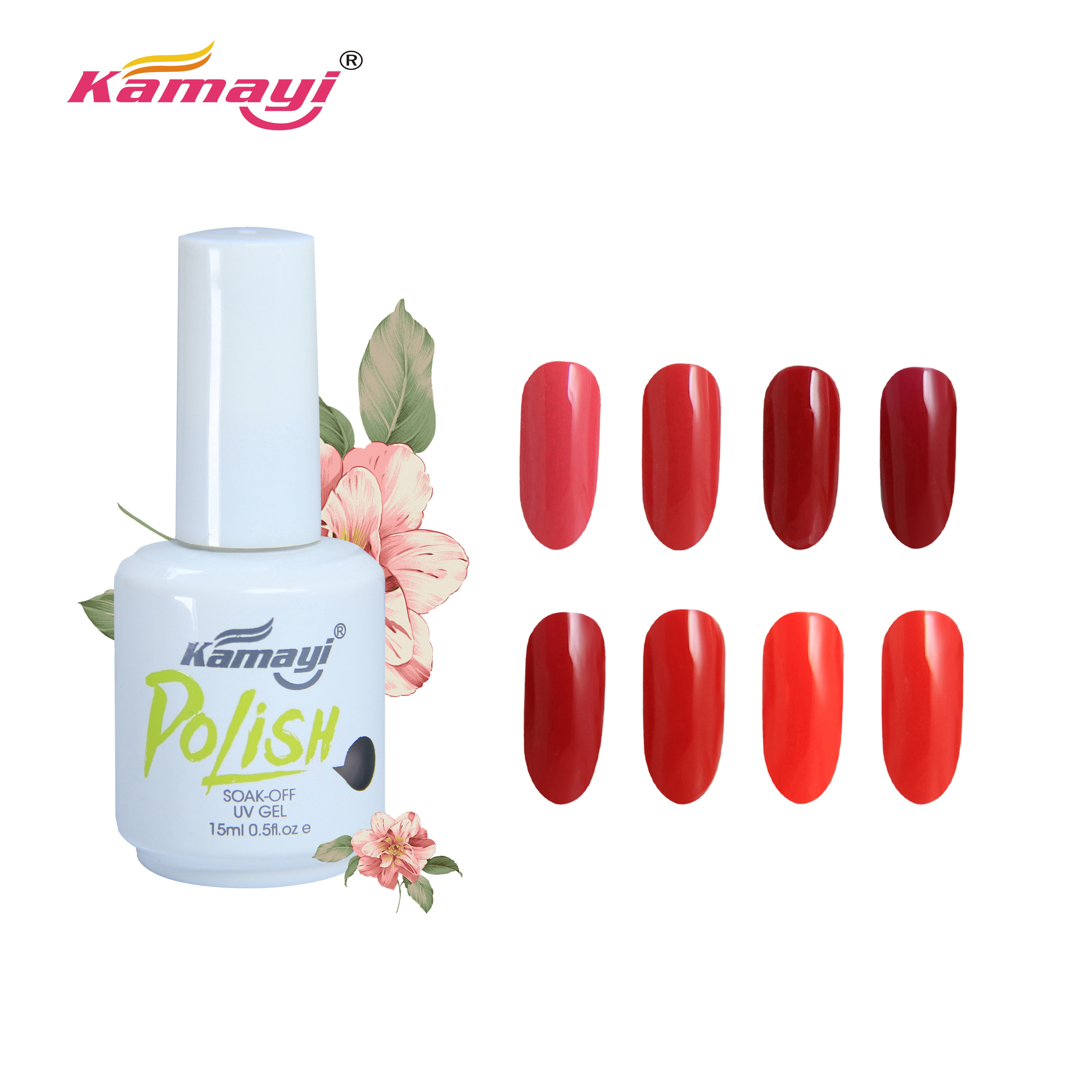 Kamayi Manufacturer Factory Supplier Gray color 15ml soak off nail polish set <strong>gel</strong>, high quality <strong>gel</strong> nail glue, white bottle nail