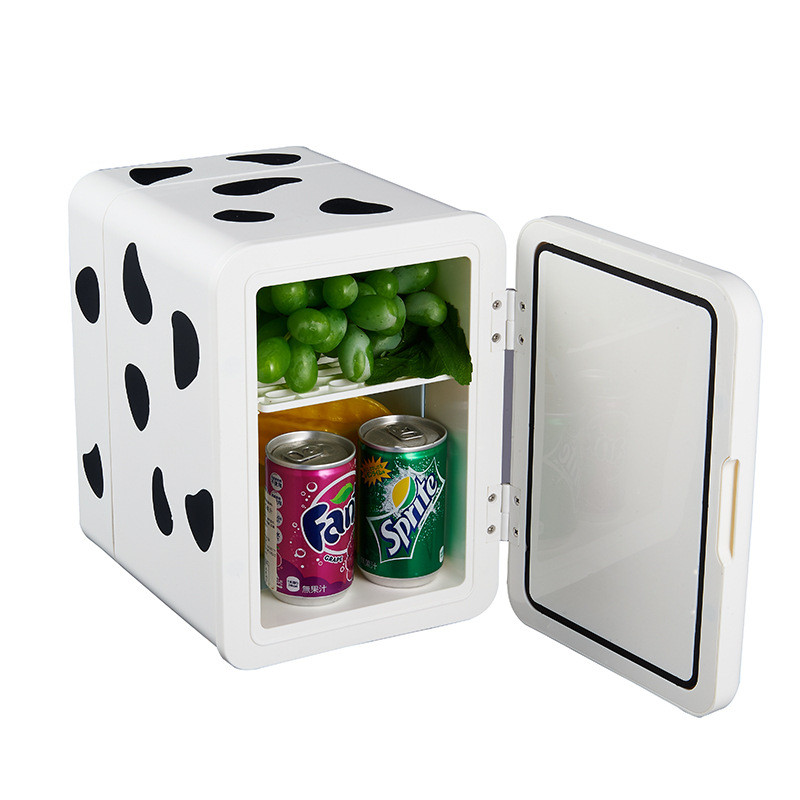 Portable Heater & Cooler Travel Coffee Cute Mini Fridge