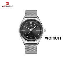 Часы NAVIFORCE для пар, Классические водонепроницаемые кварцевые часы для мужчин и женщин(China)