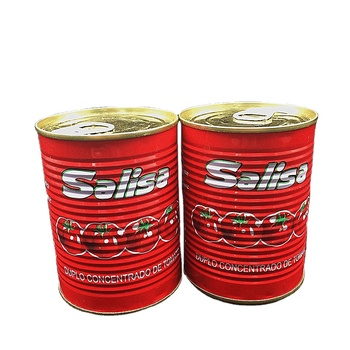 400g 2.2kg canned brix 28 30 tomato paste for African market