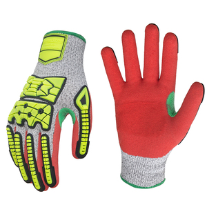 Seibertron S-Flexible 06 TPR Oilfield Safety Work Construction Industrial Protective Anti Cut Resistant Impact Mechanic Gloves