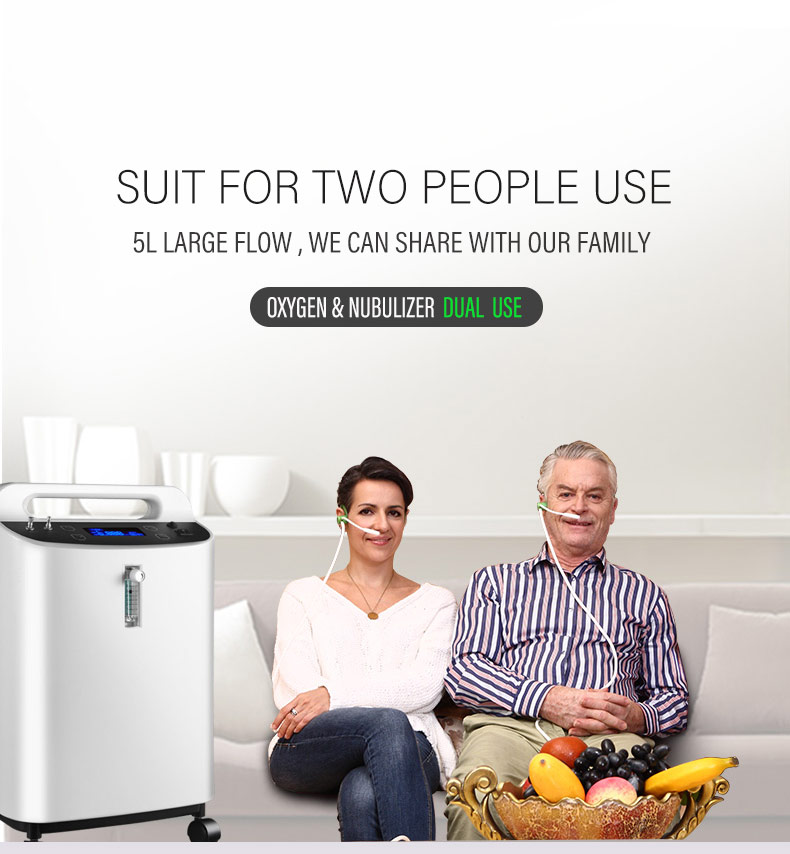 5L 93%  medical use portable  home oxygen concentrator XY-6