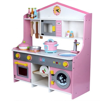 The New Child Japanese-style Simulation Kitchen Children\'s House Gas Stove  Pretend Play Wooden Kitchen Set Toy - Buy Kitchen Toy,Wooden Kitchen ...