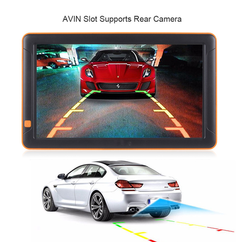 Instant digital camera Trucking car dvr mirror Lifetime Map Updates truck navigation gps car 9""