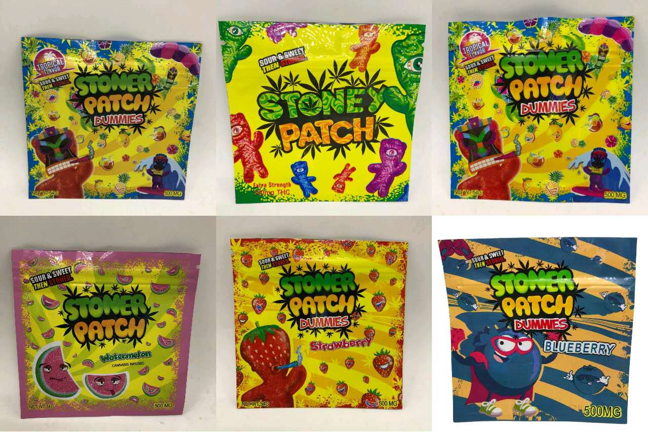 500g Mylar Plastic Runtz 3.5g Cookies Bag Custom Printed Gummy Candy Packaging Bags Cookies Packaging Zipper Pouch Pochon Weed