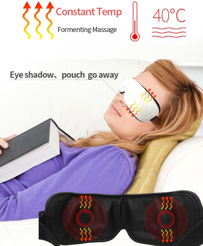 Wireless Far Infrared Heating Air Pressure Eye Massager For Dry Eye Relax Eyesight Care Stress Fatigue Relief