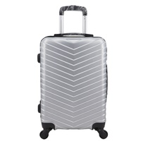 Wholesale High-quality ABS travel trolley luggage trolly bag Cabin luggage