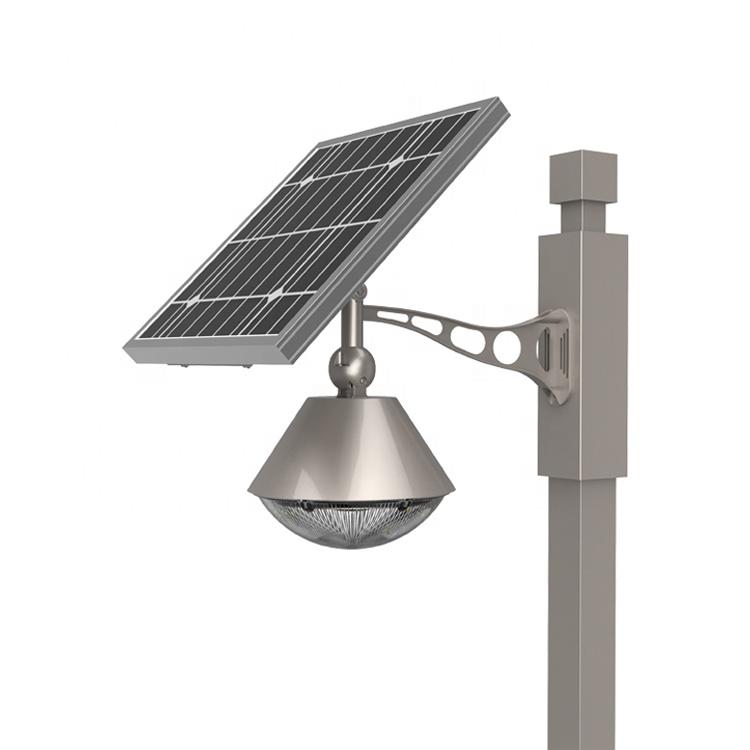 Outdoor Solar Courtyard Wall Lamp New Concept Light Factory Price Solar Garden Light