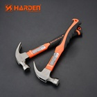 Professional Carbon Steel Hand Tool Fiberglass Handle Claw Hammer
