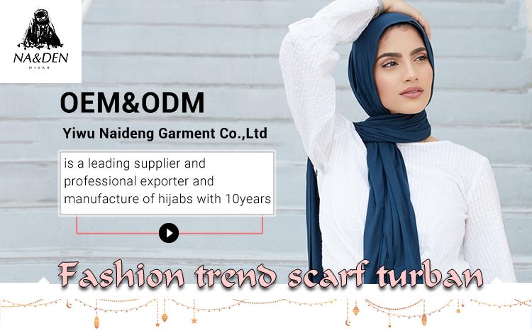 Üretici son tasarım pamuk viskon şal premium müslüman eşarp kadınlar için başörtüsü