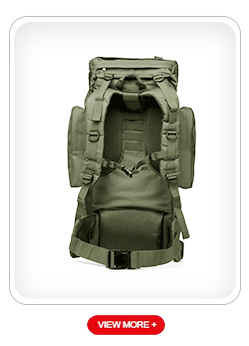 Grote laden capaciteit militaire gebruik outdoor combat jacht camping rugzak