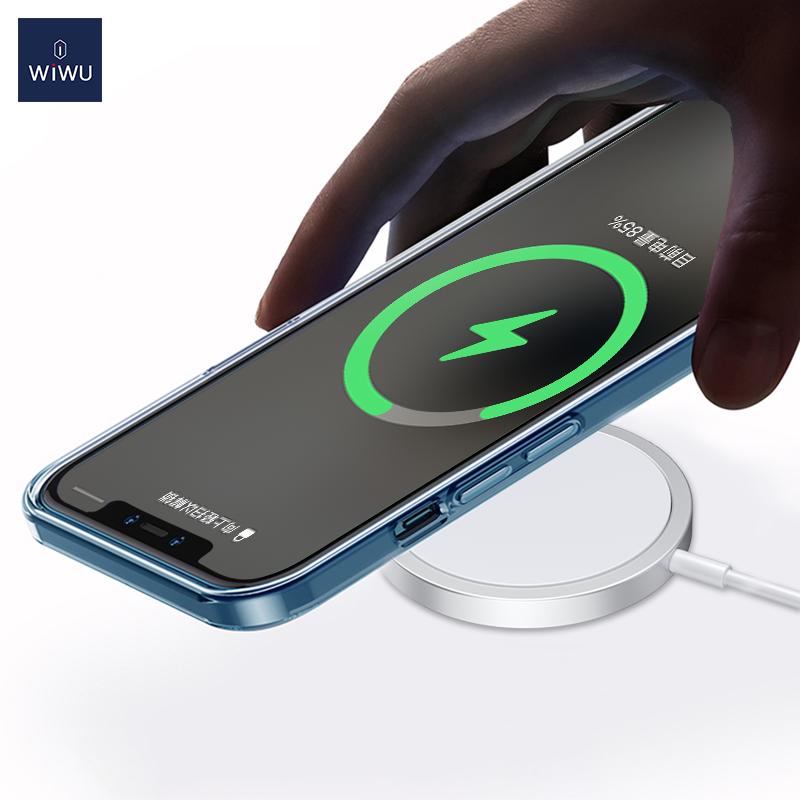 WiWU iPhone12磁吸附 无线充 (https://www.wiwu.net.cn/) 无线充电器 第4张
