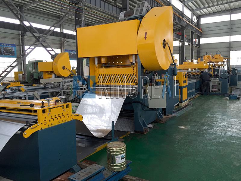 aluminum panel ceiling making machine production line