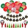 New Products Tassel Foil Indoor Festival Balloon Christmas Decoration Supplies