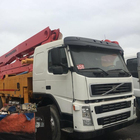 Japan Used hot sale isuzu truck putzmeister 42m truck-mounted concrete pump with low price sale in China