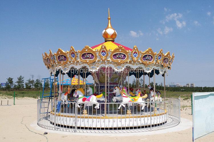 Attractie amusement kids rides carrousel mini carrousel rit voor verkoop op beste prijs