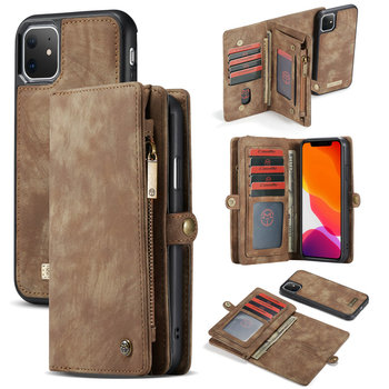 CaseMe Nieuwe Komende voor iPhone 11 Pro Flip Cover Case Magneet Afneembare Anti-Shockproof voor iPhone 11 Pro Max leather Wallet Case