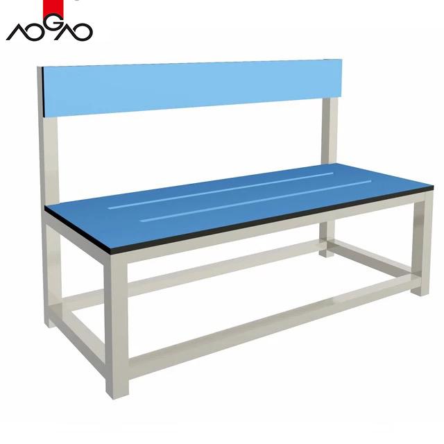 public hpl outdoor bench