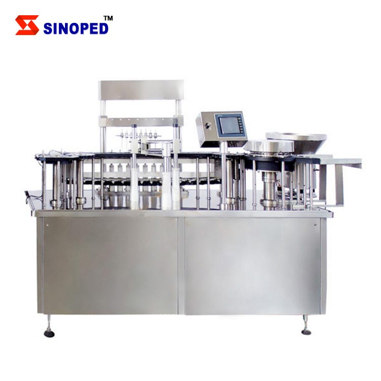 Full Automatic Milk Liquid Drinking Mineral Injection Filling Bottling Packing Machine