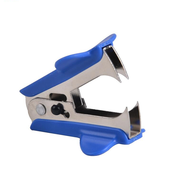 Desktop mini heavy duty jaw button lock plier staple pin remover