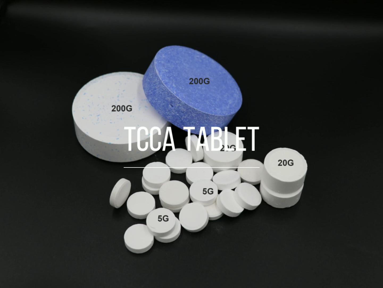 Clo Giá Tcca 90% Hạt Trichloroisocyanuric Axit Tablet
