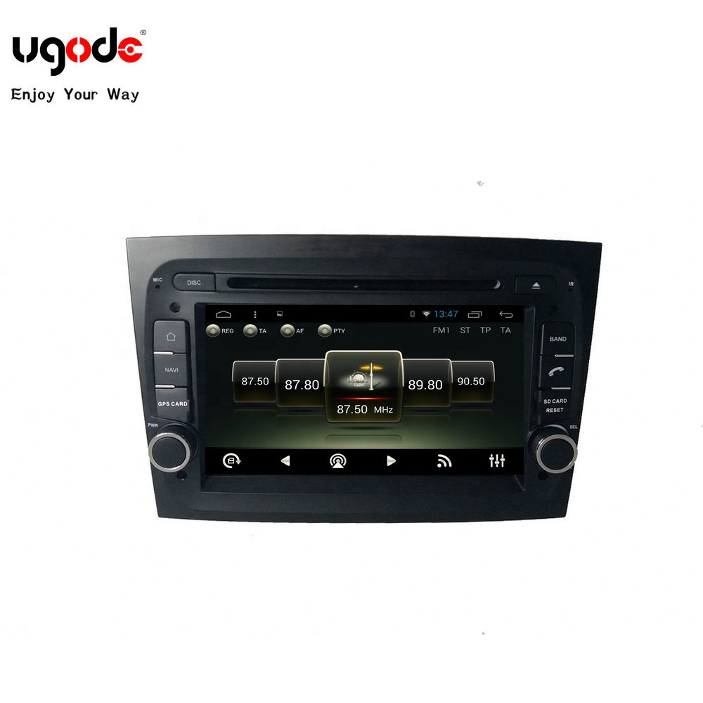 Ugode Commercio All'ingrosso Magazzino Android Car Dvd Multimedia Player Gps Navi Audio per Fiat Doblo Italia Auto