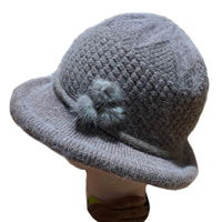 Winter wool hat