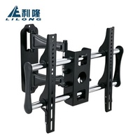 Best selling items steel LED LCD Plasma retractable full vision 55 inch flat screen tv wall mount