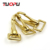 Bag Accessories Swivel solid brass snap hook brass trigger swivel brass spring snap hook