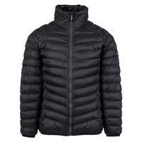 Top quality new design duck men puffy feather down jackets