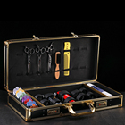 barber kit rolling barber suitcase tool case scissors box with beautiful case for barber