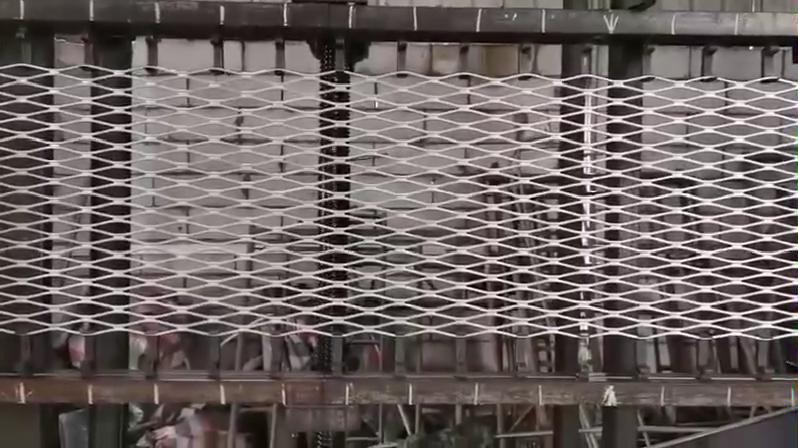 Alluminio Grill Finestra A Maglie Speso di Alluminio del Metallo Del Diamante Foglio di Rete