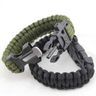 Creative design 550 paracord spool 제 army 카 모 paracord bracelet