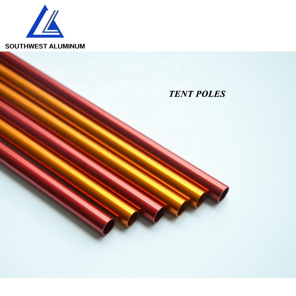 Customized collapsible Aluminum Grow Tent poles