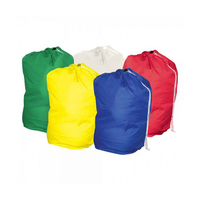 Hot sale drawstring industrial commercial laundry bag for storage