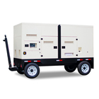 Portable Generator Generator Factories Famous Brand Good Quality Powered By Cummins Engine 100 Kw 125 Kva Portable Diesel Generator